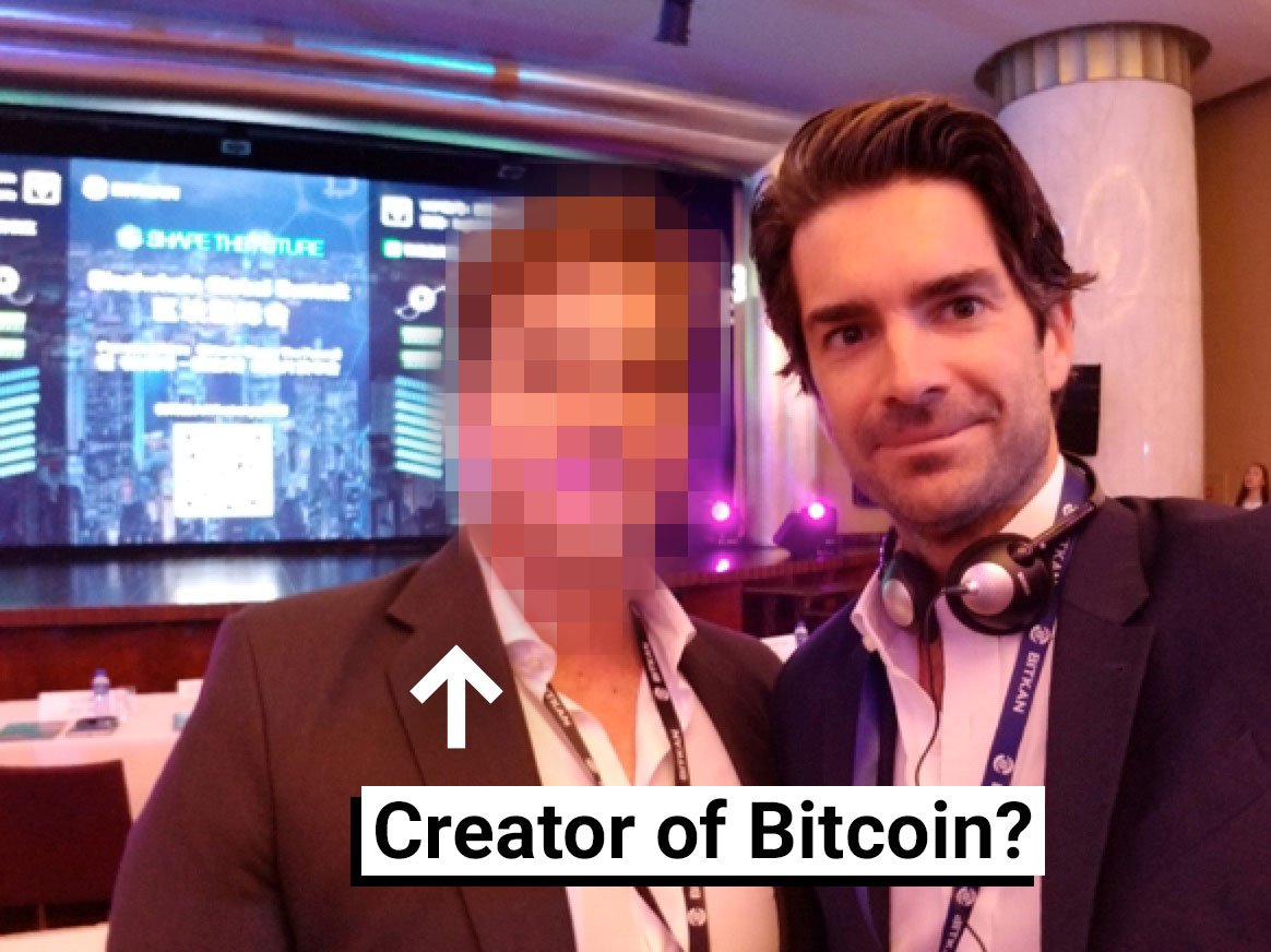 Creator of Bitcoin