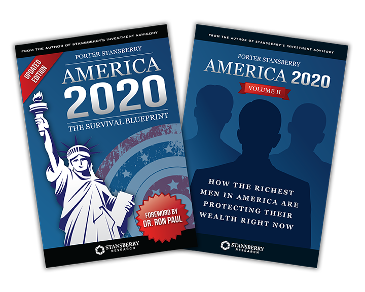Ron pauls final warning today you can a get limited edition copy of porter stansberrys new 2 book series america 2020 the survival blueprint malvernweather Gallery